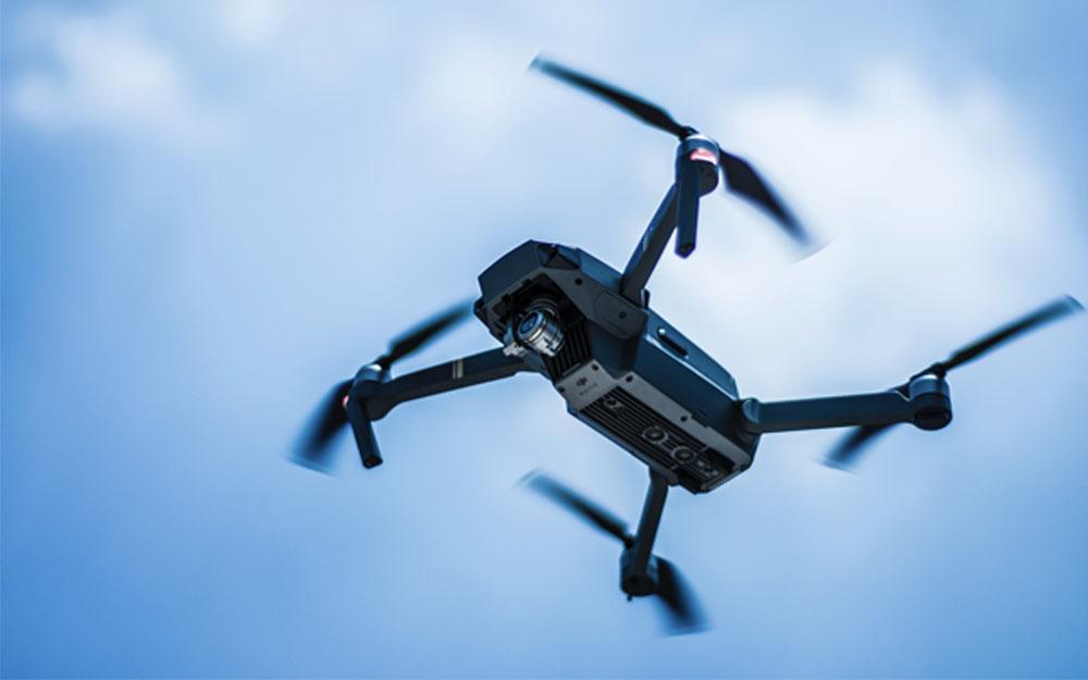 UAV application of wireless transceiver module.