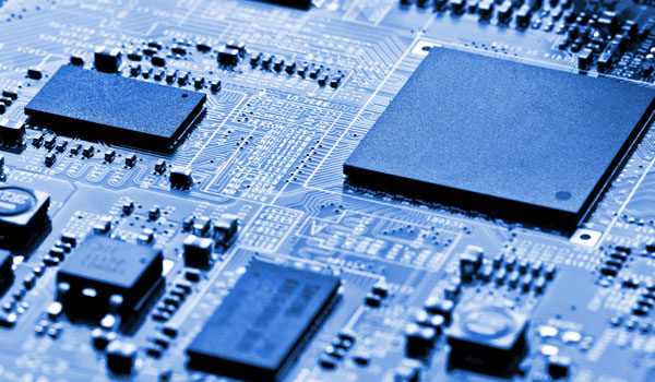 Embedded systems pcb board assembly.
