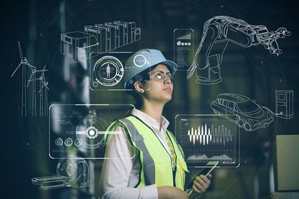 IoT (Internet of Things) solutions for industrial applications.