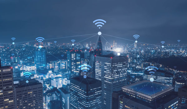 IoT (Internet of Things) Smart City Wi-Fi network.